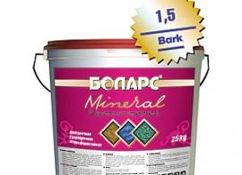 Рельефное покрытие Боларс Mineral Bark (1,5; 2,0; 2,5; 3,5)