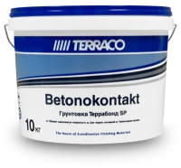 Грунтовка Terraco Террабонд SP для гладкого бетона