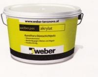 Акриловая штукатурка Weber pas akrylat декоративная (Короед 2,0 мм)
