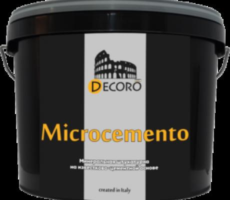 «Microcemento» декоративное покрытие (однокомпонентная сухая смесь) 15кг