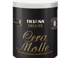 Cera (Чера) - воск для штукатурок на известковой основе (1 л) TICIANA DELUXE