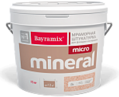 Штукатурка Микроминерал Bayramix мраморная, 15 кг